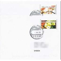 AUSTRIA (2012). PHILATELIE.SHOP (Flores 4). Sobres P.D. (España)