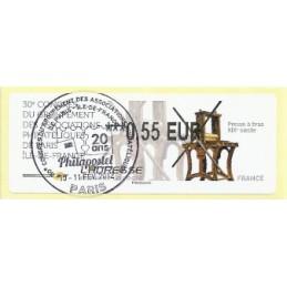 FRANCIA (2012). 30 Congres GAPHIL - Presse. ATM (0,55), mat. P.D