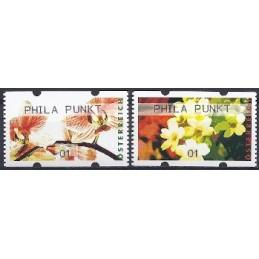AUSTRIA (2012). PHILA PUNKT (Flores 4). ATMs nuevos (01)