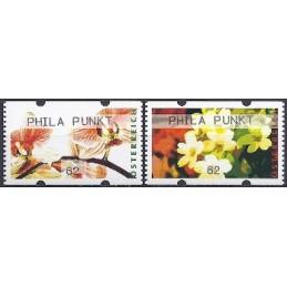AUSTRIA (2012). PHILA PUNKT (Flores 4). ATMs nuevos (62)
