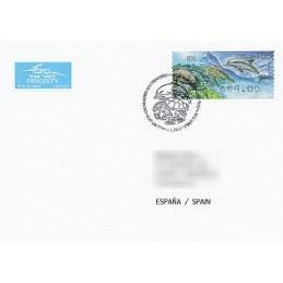 ISRAEL (2012). Fauna marina - 001. Sobre P.D. (España)