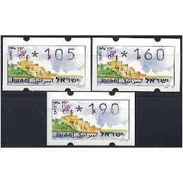 ISRAEL (1994). Turismo - Yafo - 004. Serie 3 val. (x1,05)