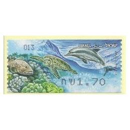 ISRAEL (2012). Fauna marina - 013. ATM nuevo