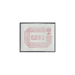 R. UNIDO (1984). Emisión Frama. ATM nuevo (0.001/2)