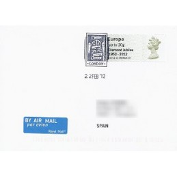 R. UNIDO (2012). Diamond Jubilee - STAMPEX 002012 21. S.P.D. Es