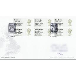 R. UNIDO (2012). Diamond Jubilee - STAMPEX 002012 21. S.P.D. ser