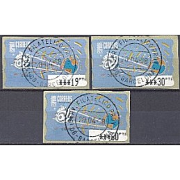 ESPAÑA. 14.1. Espacio - azul claro. PTS-5E. Serie 3 v. (1995) ma
