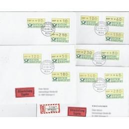 ALEMANIA (1981). Emblema postal (1). Sobres P.D. (Colección)