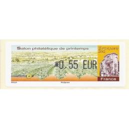 FRANCIA (2012). Salon Printemps Epernay. ATM nuevo (0,55)