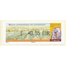 FRANCIA (2012). Salon Printemps Epernay. ATM nuevo (E 0,55)