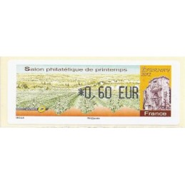 FRANCIA (2012). Salon Printemps Epernay. ATM nuevo (0,60)
