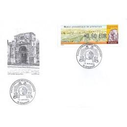 FRANCIA (2012). Salon Printemps Epernay. Sobre P.D. (0,60) (1)