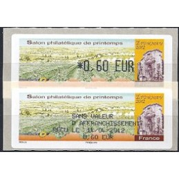 FRANCIA (2012). Salon Printemps Epernay. ATM (0,60) + rec. FR