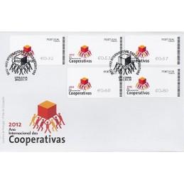PORTUGAL (2012). Cooperativas - NEWVISION negro. Sobre P.D. (ser