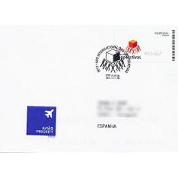 PORTUGAL (2012). Cooperativas - SMD negro. Sobre P.D. (España)