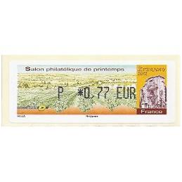 FRANCIA (2012). Salon Printemps Epernay. ATM nuevo (P 0,77)