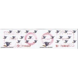 ECUADOR. Logotipo correos (4C). H062. Sellos nuevos ($00.02)