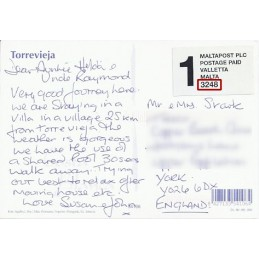 ESPAÑA (2001). MALTAPOST - 3255. Tarjeta postal