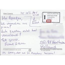 ESPAÑA (2001). MALTAPOST - 2217. Tarjeta postal