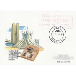 BRASIL (1981). Emisión básica (1) - AG. 00001. Sobre