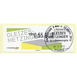 FRANCIA (2012). Gleizes-Metzinger. ATM (0,55), mat. P.D