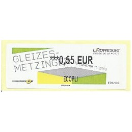 FRANCIA (2012). Gleizes-Metzinger. ATM nuevo (0,55 ECOPLI)