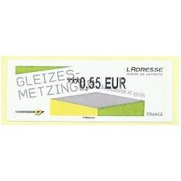 FRANCIA (2012). Gleizes-Metzinger. ATM nuevo (0,55)