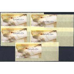 GRECIA (2011). Carta - negro. ATMs nuevos (0,01-0,05)