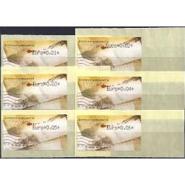 GRECIA (2011). Carta - negro. ATMs nuevos (0,01-0,06)