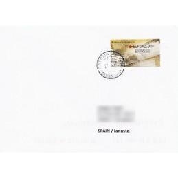 GRECIA (2011). Carta - negro. Sobre a España EXPRESS