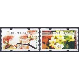 AUSTRIA (2012). HIBRIA 2012 (Flores 4). ATMs nuevos (01)
