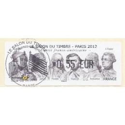 FRANCIA (2012). Amitié FR-USA - LISA 1. ATM (0,55), mat. P.D.