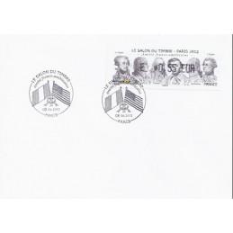 FRANCIA (2012). Amitié FR-USA - LISA 1. Sobre P.D. (E 0,55)