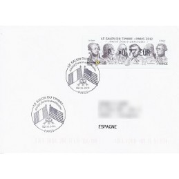 FRANCIA (2012). Amitié FR-USA - LISA 1. Sobre P.D. (España)