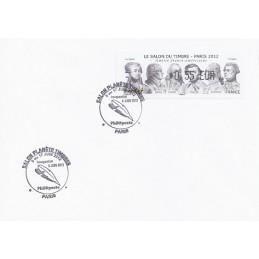 FRANCIA (2012). Amitié FR-USA - LISA 1. Sobre P.D. (Inauguración