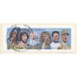FRANCIA (2012). Gobernantes - LISA 1. ATM (0,55), mat. P.D.