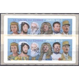 FRANCIA (2012). Gobernantes - LISA 1. ATM (0,55) + rec. FR