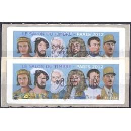 FRANCIA (2012). Gobernantes - LISA 1. ATM (E 0,55) + rec. FR