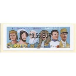FRANCIA (2012). Gobernantes - LISA 2. ATM nuevo (0,55)