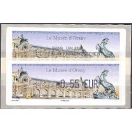 FRANCIA (2012). Musée Orsay - LISA 1. ATM (0,55) + rec. FR