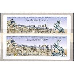 FRANCIA (2012). Musée Orsay - LISA 1. ATM (E 0,55) + rec. FR