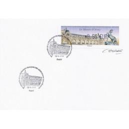 FRANCIA (2012). Musée Orsay - LISA 1. Sobre (firmado)