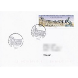 FRANCIA (2012). Musée Orsay - LISA 1. Sobre P.D. (España)