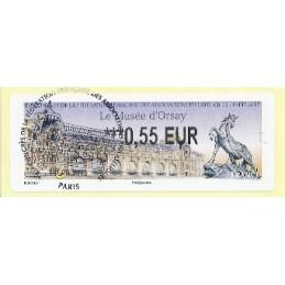 FRANCIA (2012). Musée Orsay - LISA 2. ATM (0,55), mat. P.D.