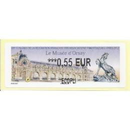 FRANCIA (2012). Musée Orsay - LISA 2. ATM nuevo (0,55 ECOPLI)