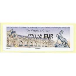 FRANCIA (2012). Musée Orsay - LISA 2. ATM nuevo (0,55)