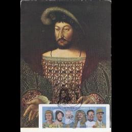 FRANCIA (2012).. Gobernantes. Tarjeta máxima (François 1er) **