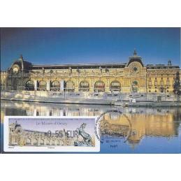 FRANCIA (2012).. Musée Orsay. Tarjeta máxima