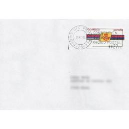 ESPAÑA. 4.3.2. Emblema postal - FNMT. PTS-4CB. Sobre (nacional)