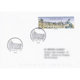 FRANCIA (2012). Musée Orsay - LISA 1. Sobre P.D. (E 0,55) 2